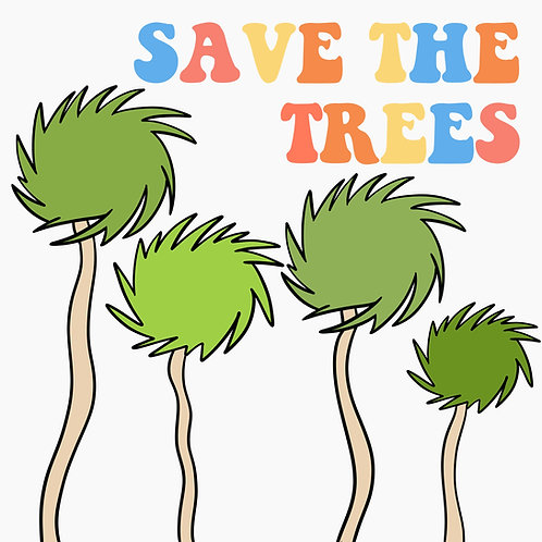 Save the Trees (Trufulla Green/White)