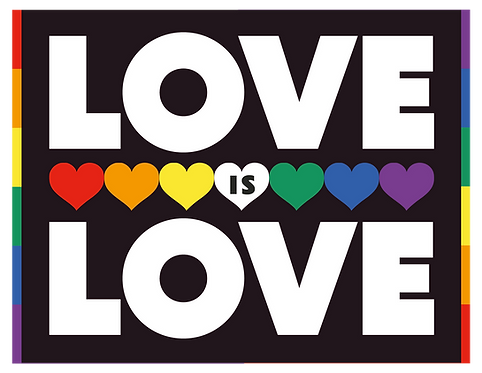 """""""Love is Love"""" Spellout"""