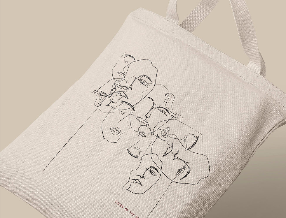 The Faces Tote