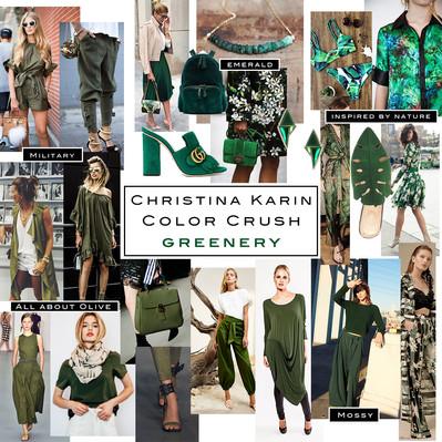 Color Crush: Greenery