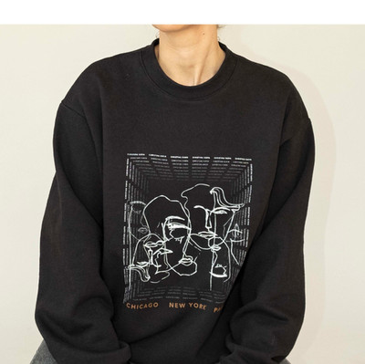 JUST IN: THE FACES SWEATSHIRT