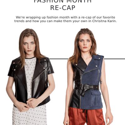 Fashion Month Re-Cap