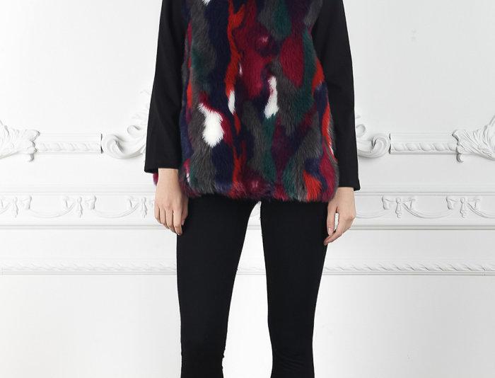 Gemma Faux Fur Sweatshirt