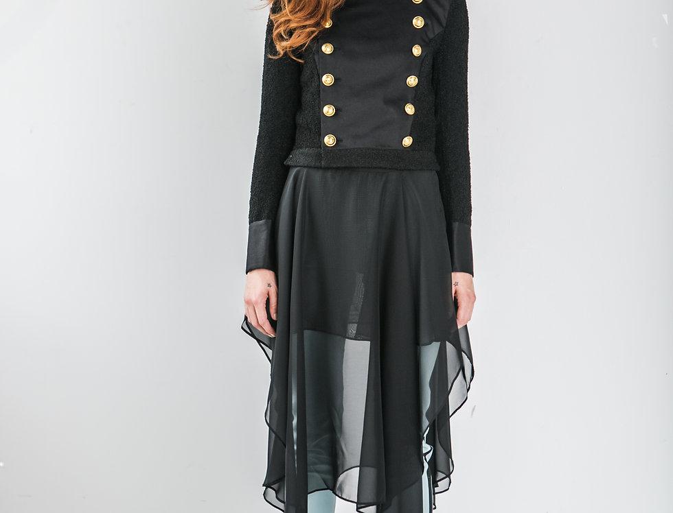 Multi-Layer Sheer Skirt