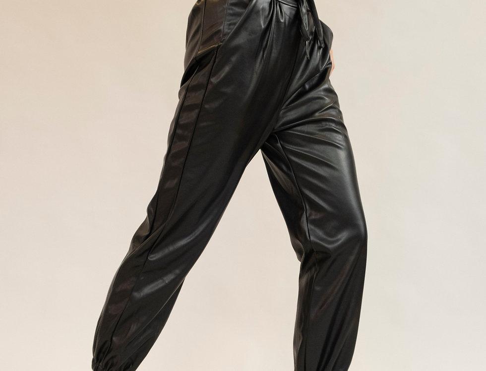 Gisele Vegan Leather Pant