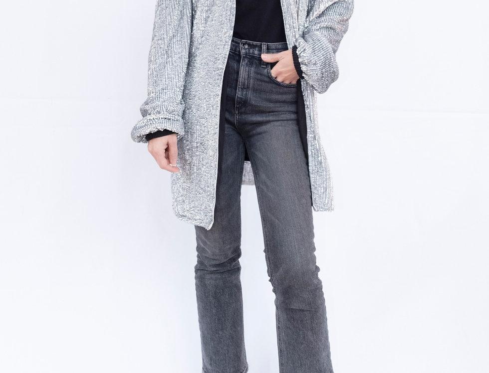 Sequin Wrap Blazer/Dress