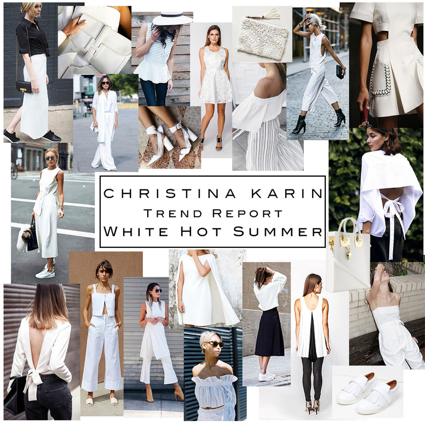 Trend Report: White Hot Summer