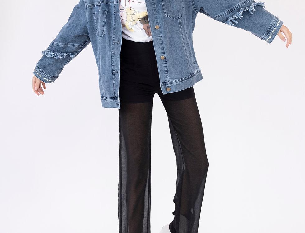 Farrah Denim Jacket - Vintage Blue