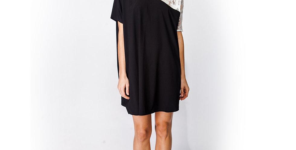 One Shoulder Burn-out Dress