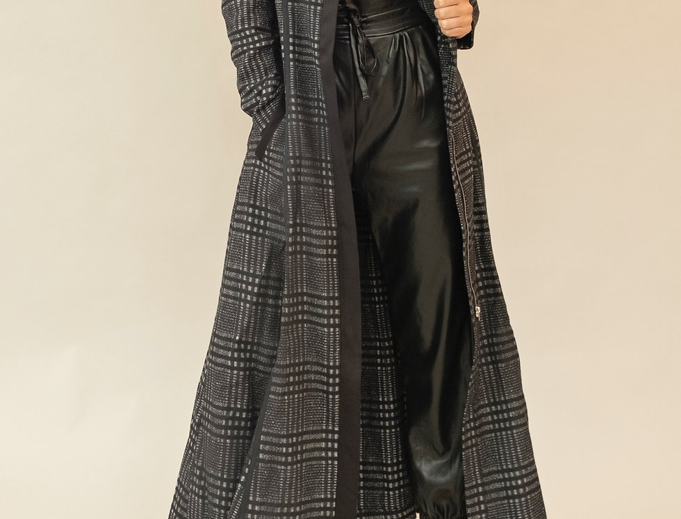 Imogen Plaid Coat
