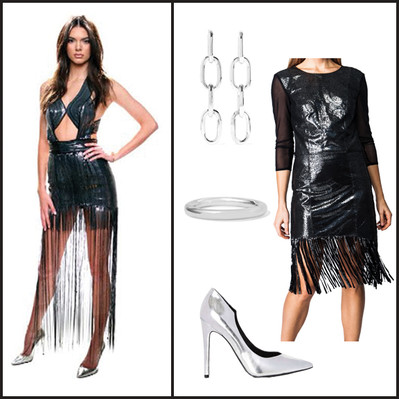 Model Style: Kendall Jenner in Metallic Leather