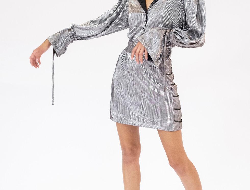 Rita Lamé Dress