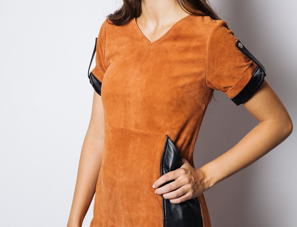 Sedona Suede & Leather Dress
