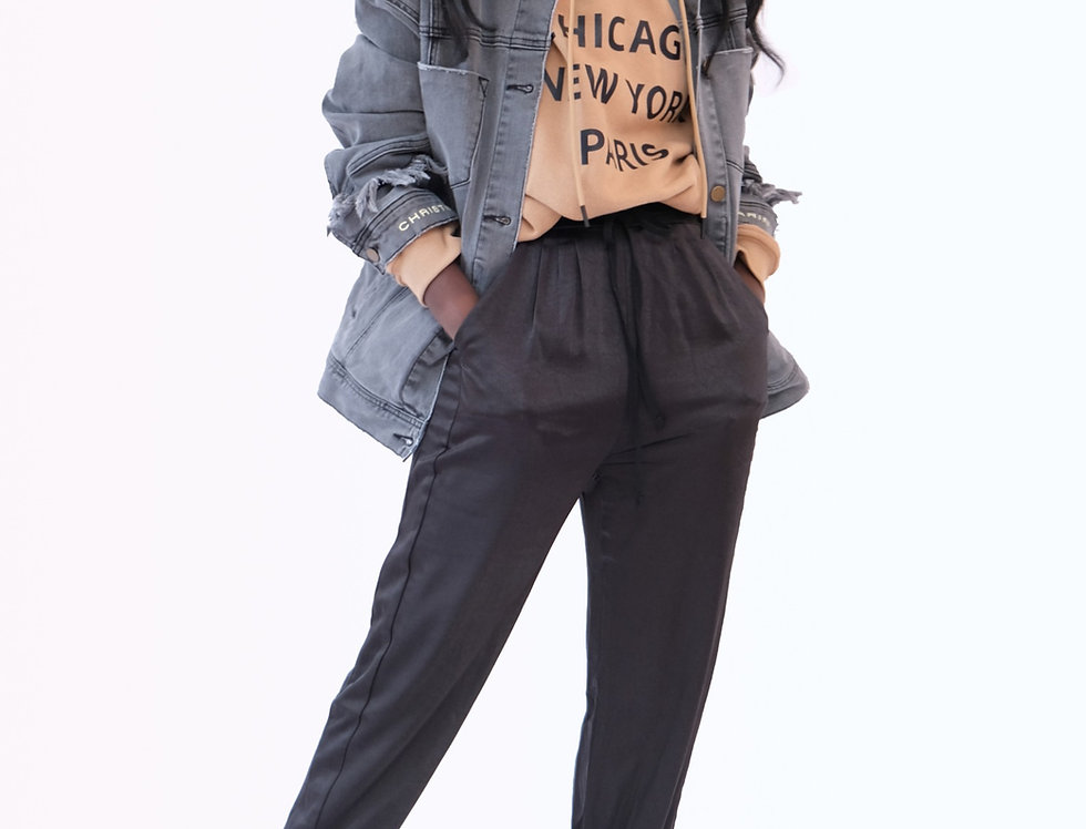 Farrah Denim Jacket - Vintage Grey