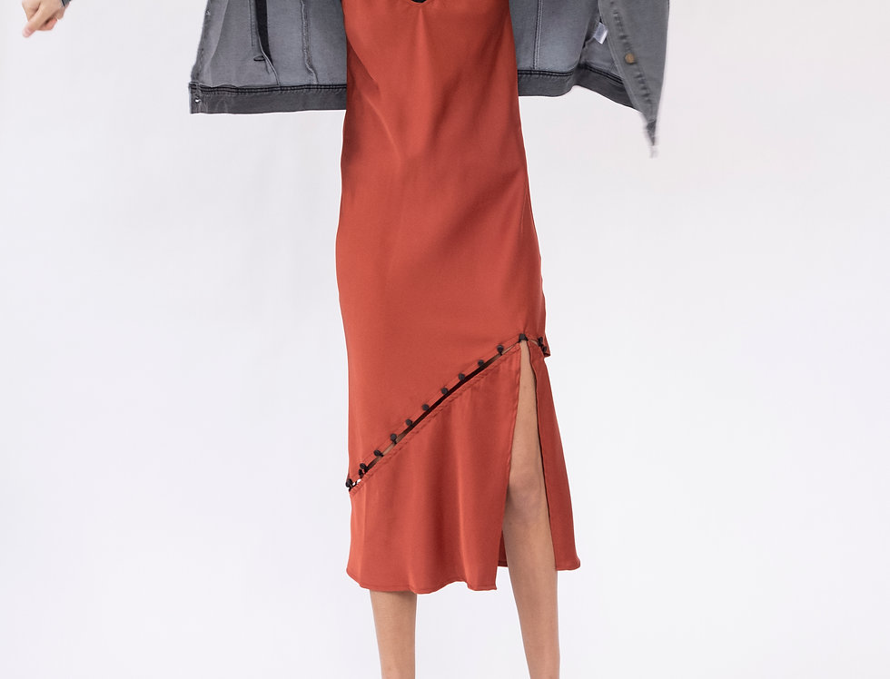 Convertible Slip Dress