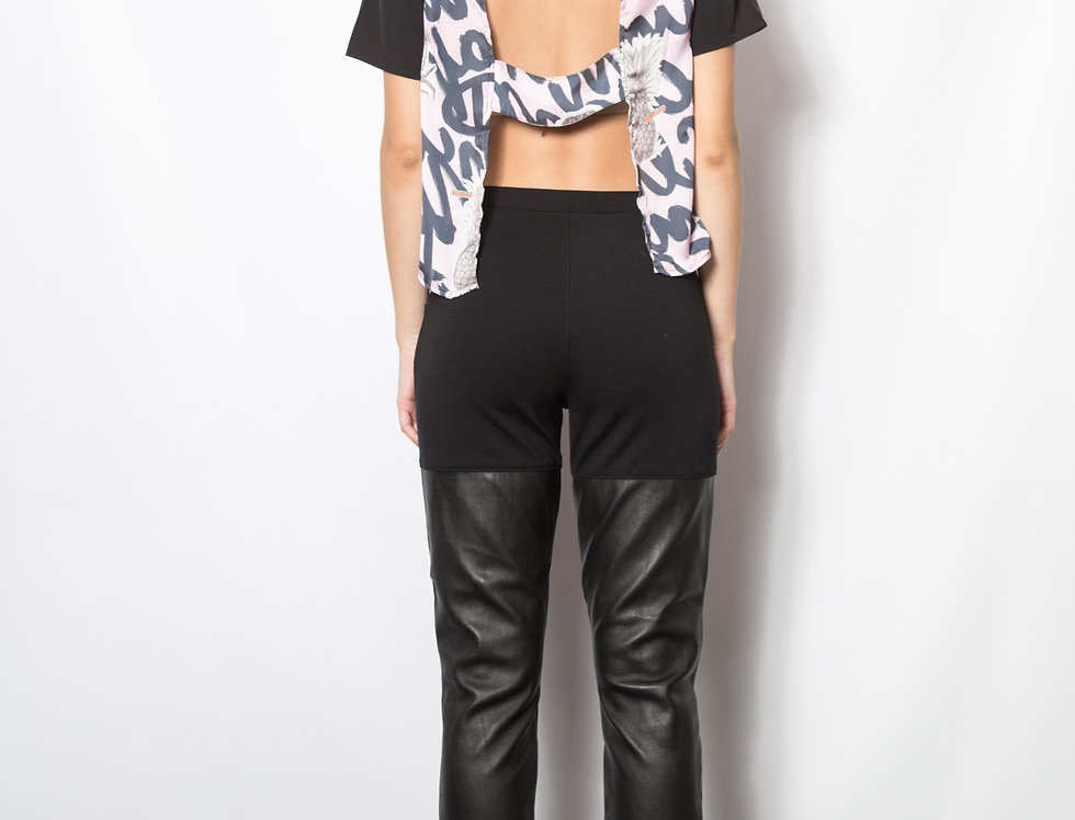 Tropical Cut Out Top