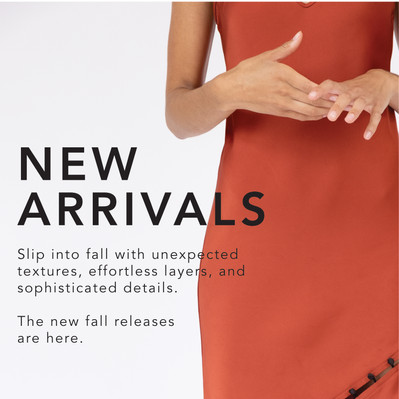 New Arrivals: Slip Into Fall