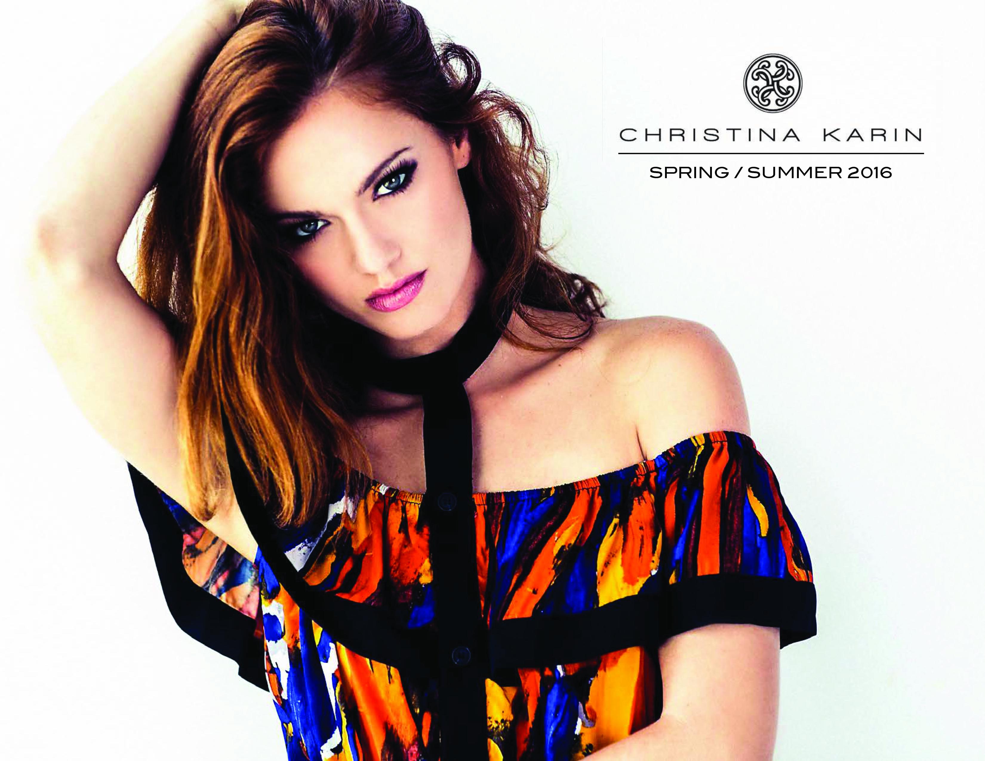 Christina Karin Spring Summer 2016