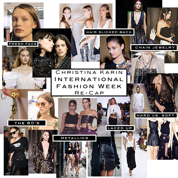 International Fashion Week Re-Cap