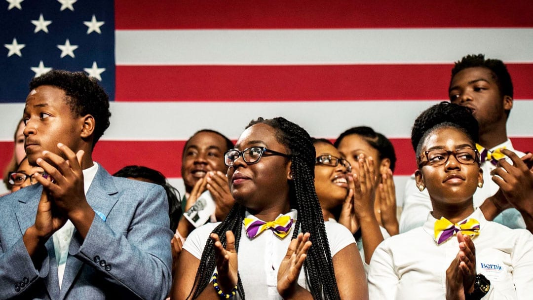 Young Black voters