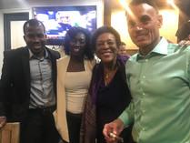 African Entrepreneurs and Shark Kevin Harrington at VIP Social