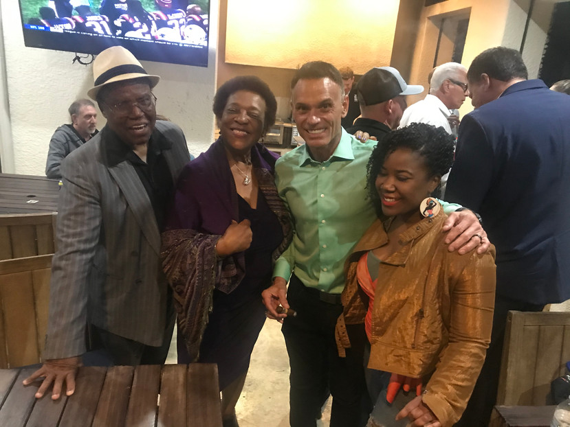 Celebrity Shark Kevin Harrington, Tiffani Knowles and Family