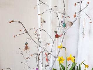 DIY - Was man aus alten, vertrockneten Zweigen noch zaubern kann