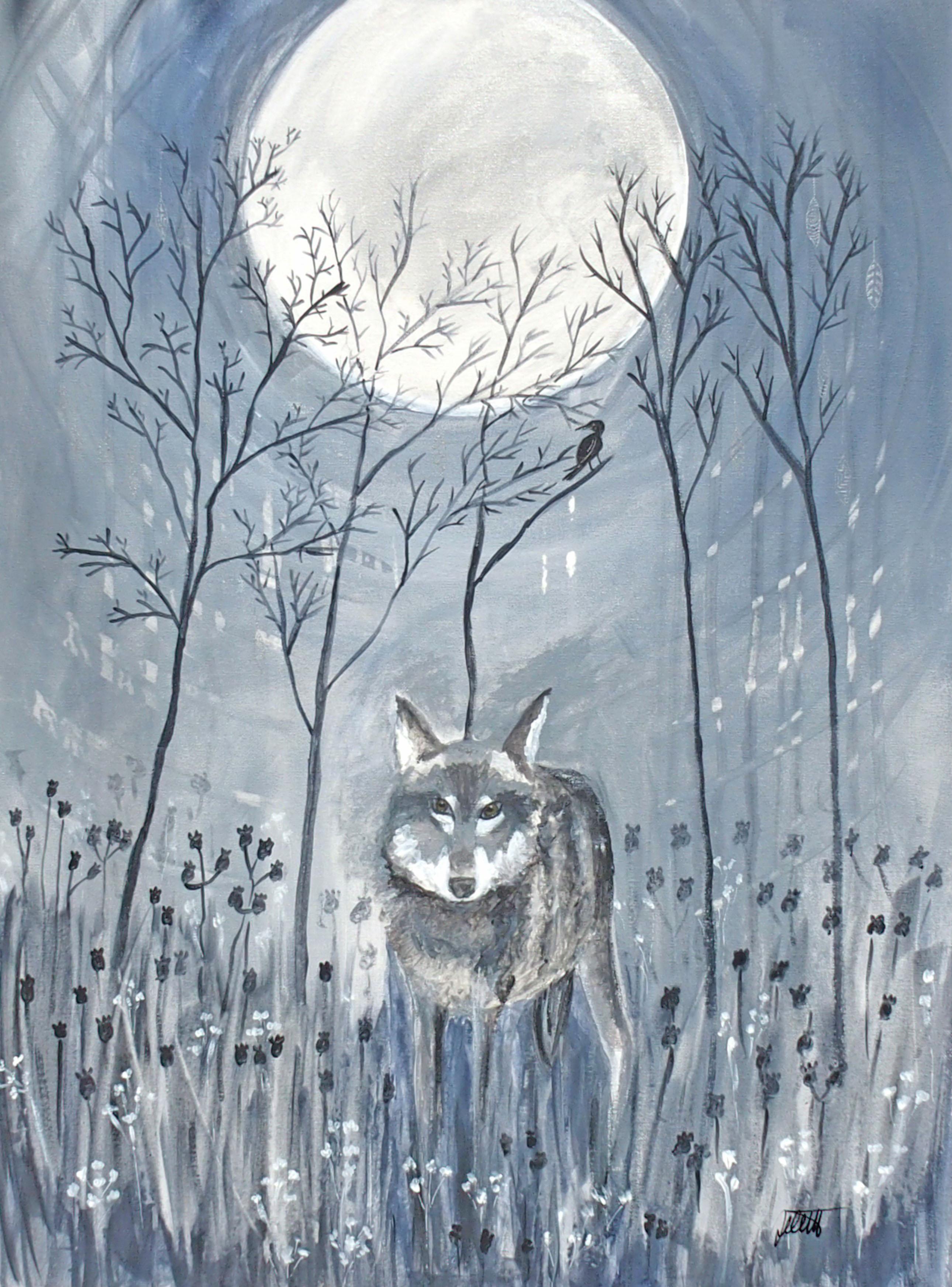 Wolf 60 x 80