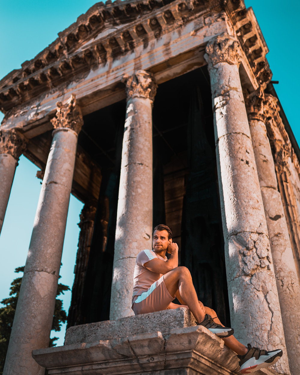 Temple of Augustus Pula Croatia
