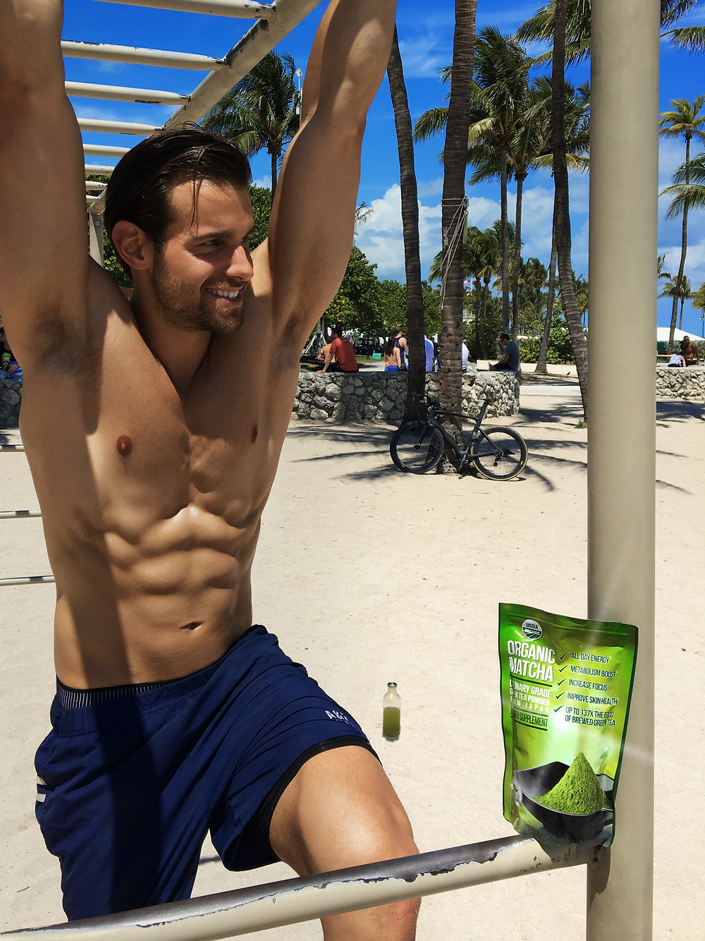 Matcha green tea powder benefits, Using Matcha for Pre-Workout Abs FAT burn and weight loss