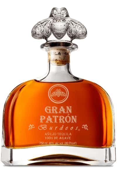 Gran Patrón Burdeos is a handmade, luxury añejo tequila