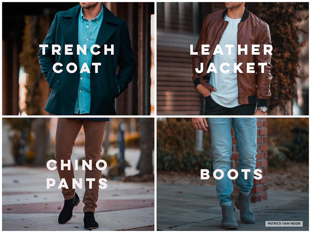 Men's fashion for Fall 2019