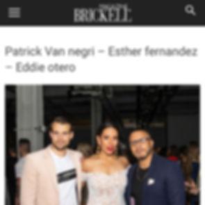 Brickell Magazine - Patrick Van Negri