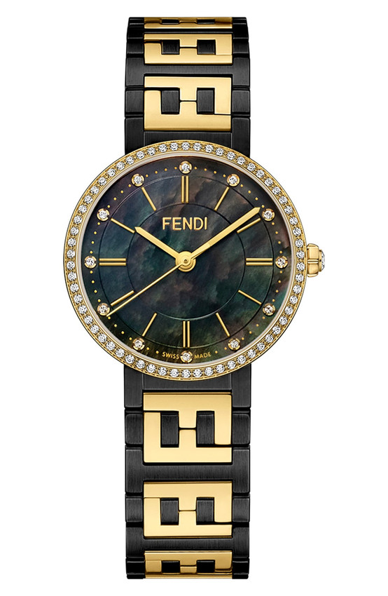 Forever Fendi Diamond Bracelet Watch, 29mm