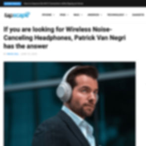 Tapscape - If you are looking for Wireless Noise-Canceling Headphones, Patrick Van Negri has the answer