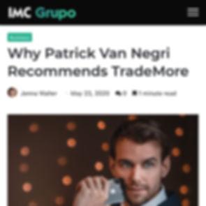 IMC Grupo - Why Patrick Van Negri Recommends TradeMore