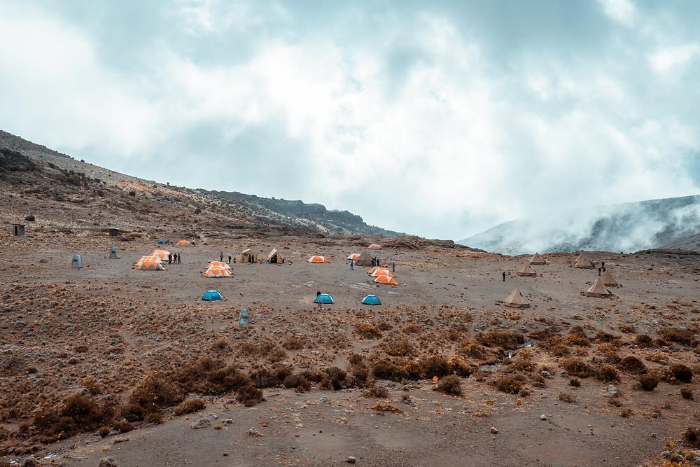 Moir Hut Camp - Mout Kilimanjaro