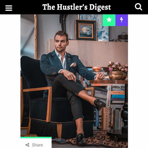 Patrick Van Negri Makes Building a Personal Brand Easy; Here's How - The Hustler's Digest