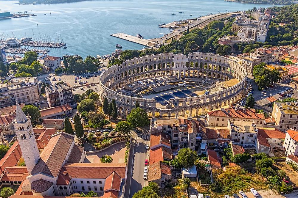 Pula Croatia Arena Istria Summer Guide top 10 tourism