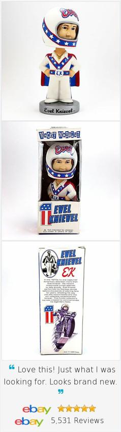 Evel Knievel, figurinha