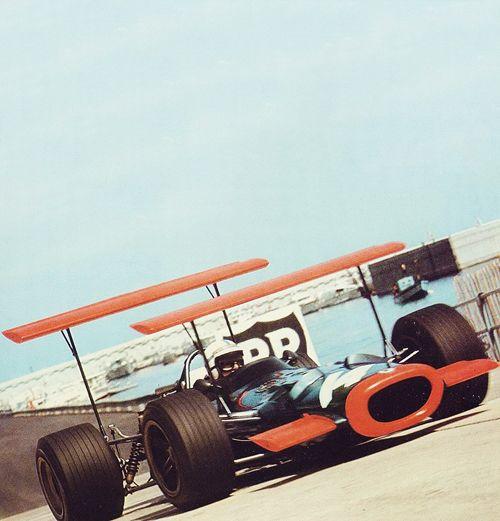 John Surtees, 1969, Monaco, BRM P138