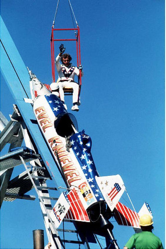 Evel Knievel, rocket