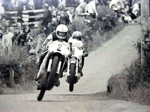 Ray McCullough e Joey Dunlop, Temple