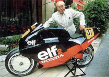 ELF com Soichiro Honda