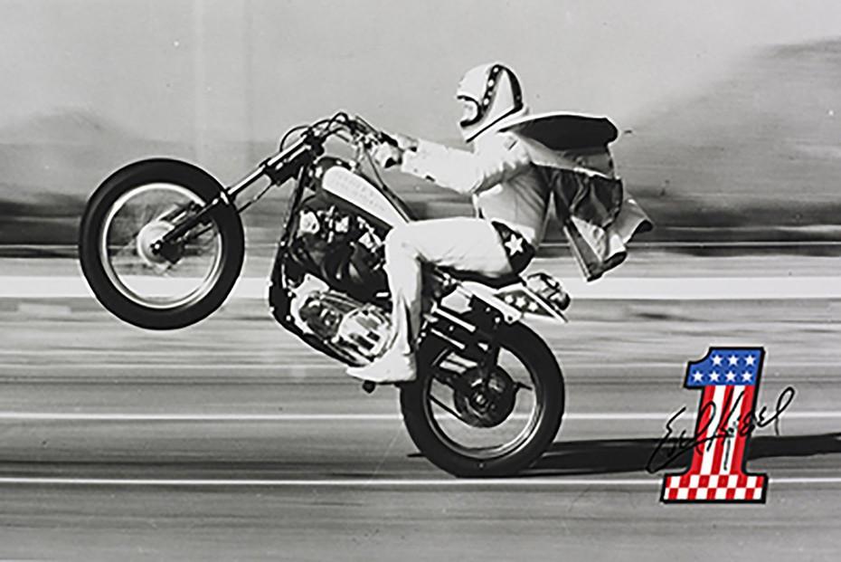Evel Knievel, o ícone americano dos anos '70