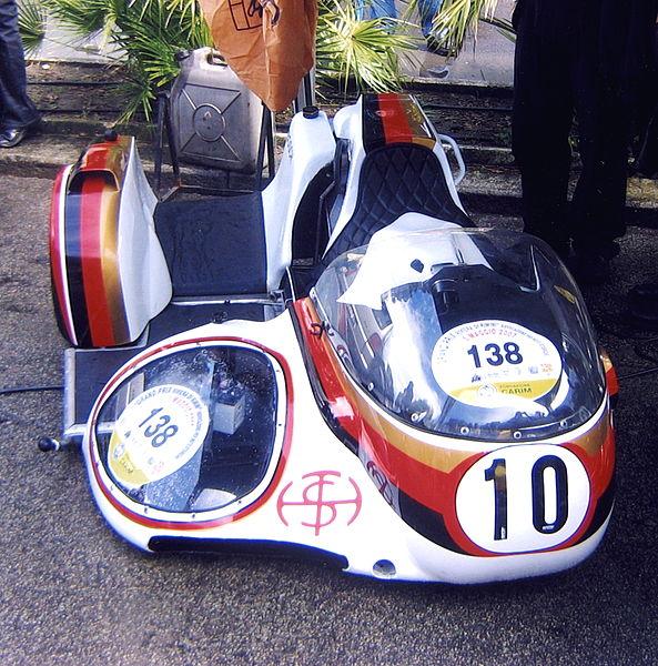KONIG_Sidecar,_Werner_Schwarzel_e_Giuseppe_Dal_Toè
