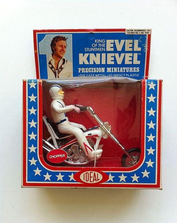 Evel Knievel, miniaturas, A