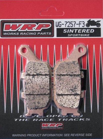 WRP, pastilhas de travão SINTERED F3