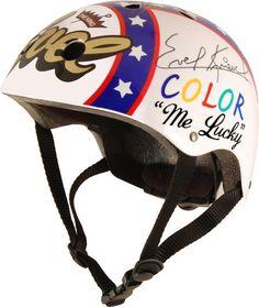 Evel Knievel, kid helmet