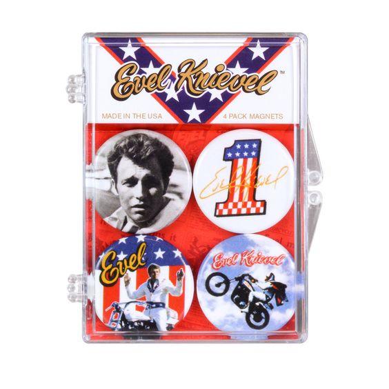 Evel Knievel, badges